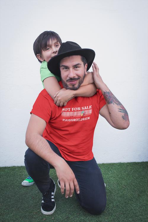 #saveourchildren T-Shirt Herr. Make Your Statement Bý Statements Clothing