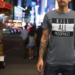 Kill All Pedophiles T-Shirt Herr