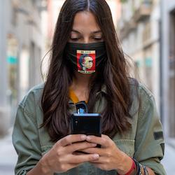Be Safe Wear a Mask  Facemask Onesize