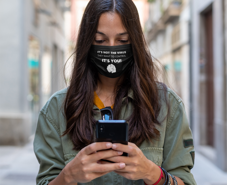 Control Face Mask Onesize