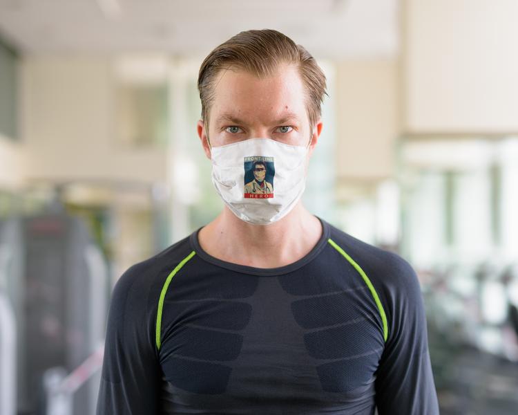 Frontline Hero II Face Mask Onesize