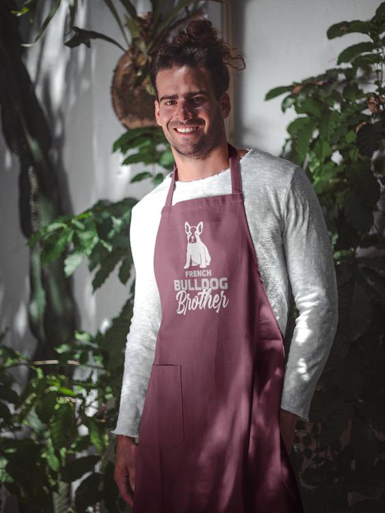 French Bulldog Brother Förkläde