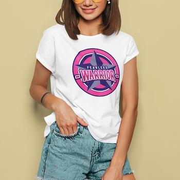 Warrior Retrostyle T-Shirt Dam