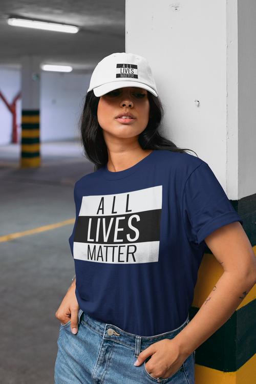 All Lives Matter Tshirt Women