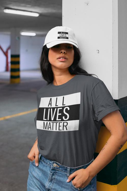 T-shirt Women All Lives Matter