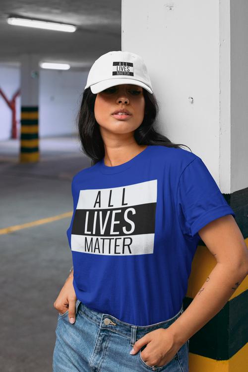 All Lives Matter tröjor Dam. All Lives Matter Shirts
