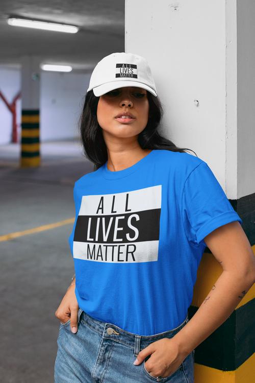 All Lives Matter. Allas lika rätt & värde