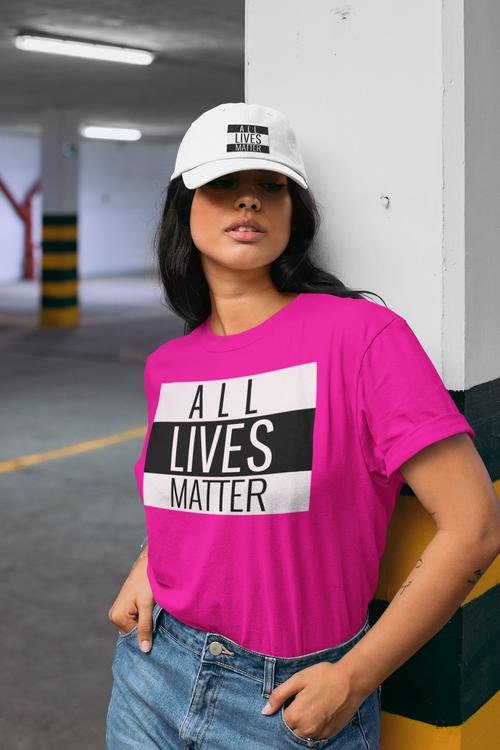 All Lives Matter T-Shirt i årets alla färger