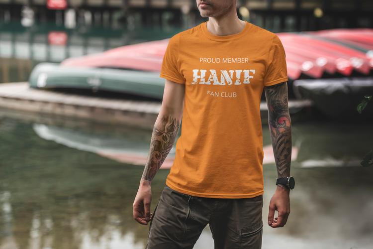 Hanif Fan Club T-Shirt Herr