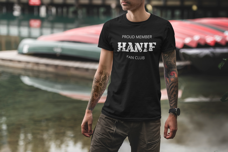 Herr Tshirt. Stödj Hanif Bali. #Hanif Bali
