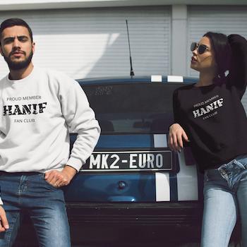 Hanif Fan Club Sweatshirt Unisex