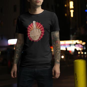 F.U Circle T-Shirt Herr