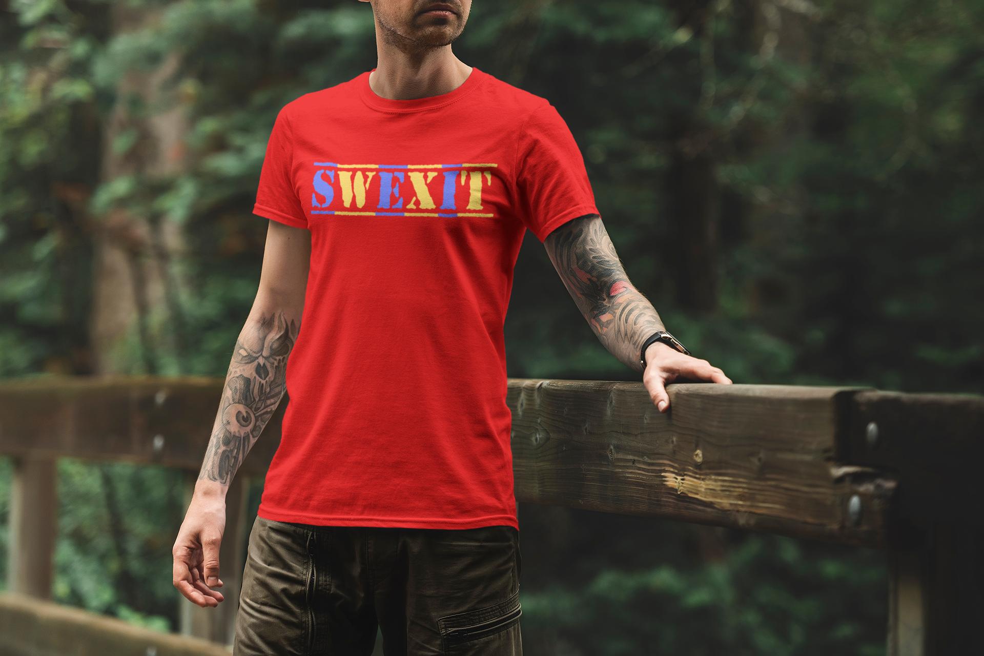 SWEXIT T-Shirt Herr