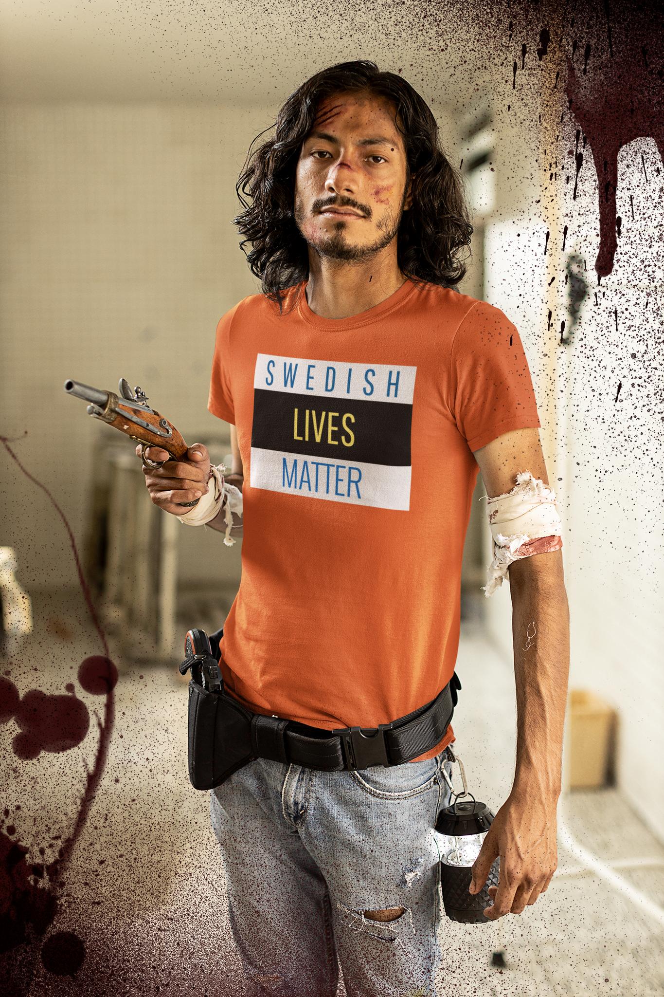 Swedish Lives Matter T-Shirt Herr