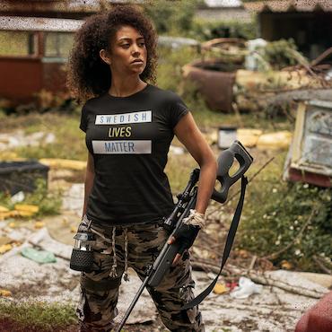 Swedish Lives Matter T-Shirt Dam