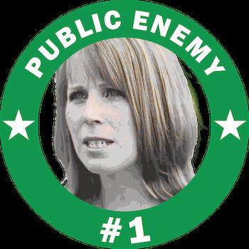 Annie Public Enemy #1 T-Shirt Herr