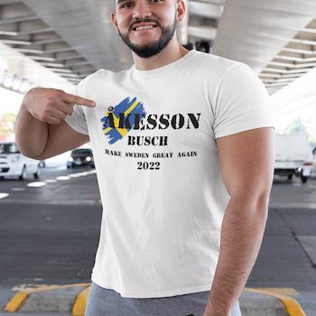 Åkesson-Busch 22 T-Shirt Herr