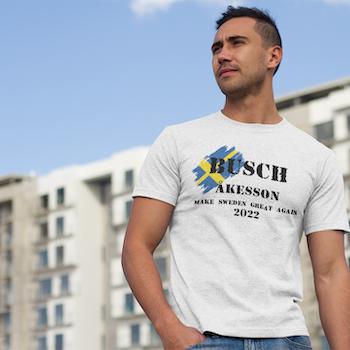 Busch - Åkesson 22 T-Shirt Herr