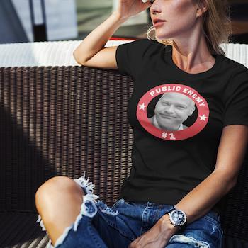 Morgan Public Enemy #1 T-Shirt Dam