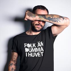Dumma i huvet T-Shirt Herr
