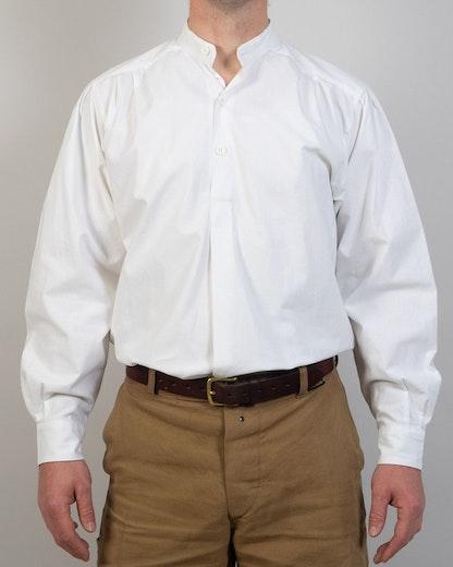 Skjorta, bomull, vit