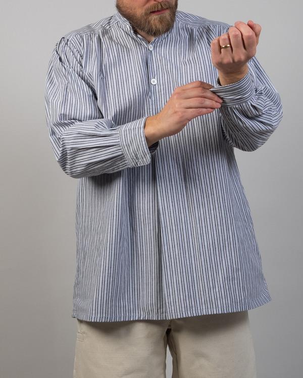 Skjorta, blårandig