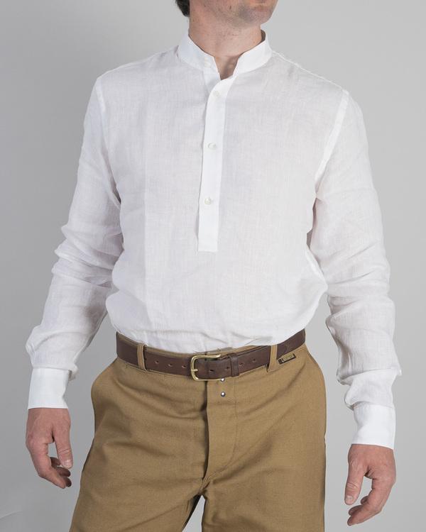 Linneskjorta, vit