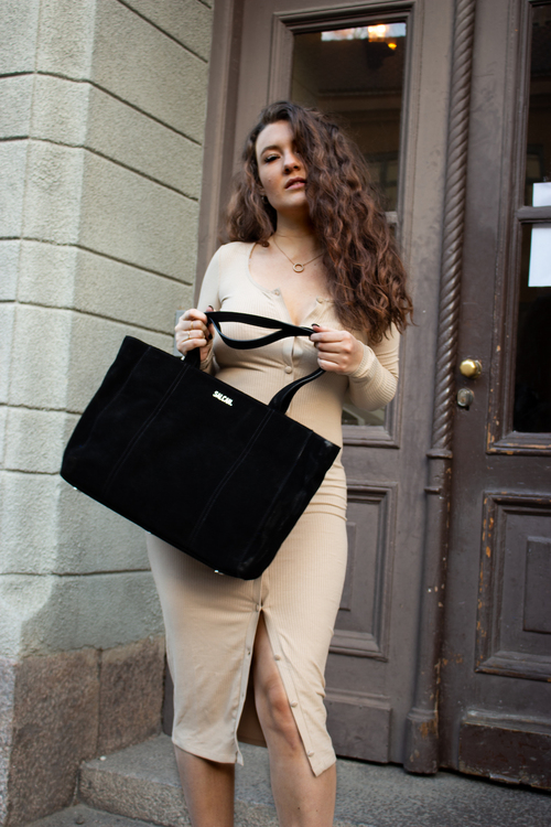 Hedda with innerbag