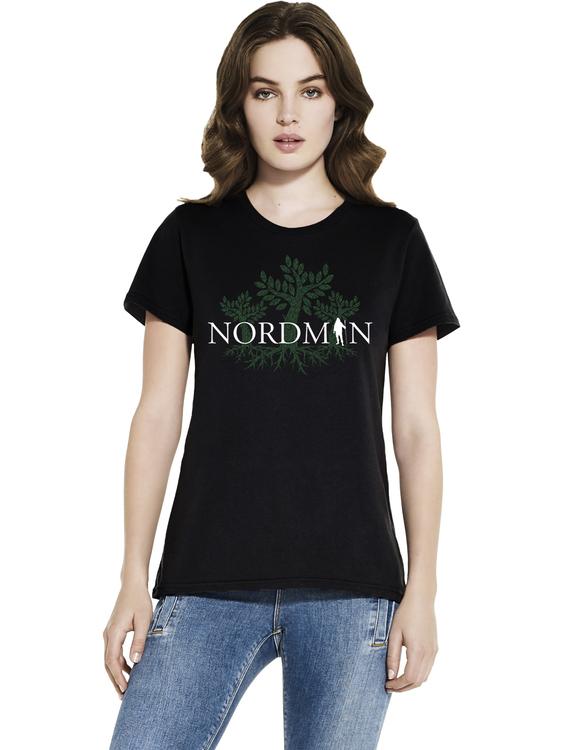 Nordman Träd - Girlie T-shirt