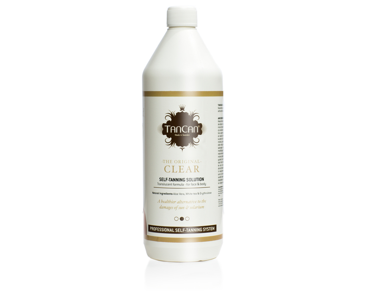 TanCan PRO Tanning Solution - Clear 1000 ml