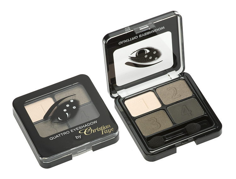 Christian Faye Quattro Eyeshadow, Brown