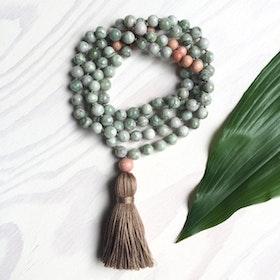 Yogahalsband Dream green Malas från The Beautiful Nomad