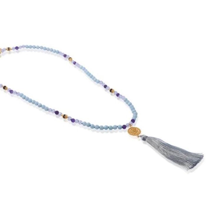 "Mala halsband ""True Colors"" i Gold Vermeil från Ananda Soul"