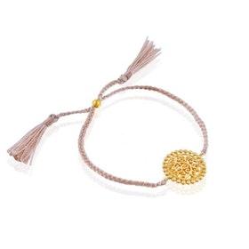 "Armband ""True Colors"" i Gold Vermeil från Ananda Soul"
