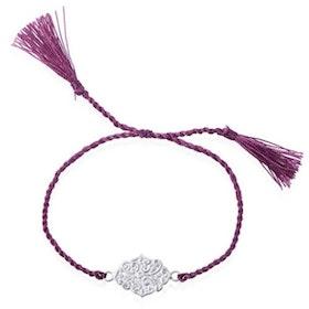 "Armband ""Love"" i Silver från Ananda Soul"