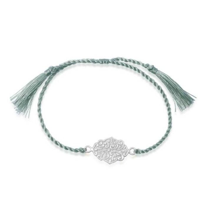 "Armband ""Trust"" i Silver från Ananda Soul"