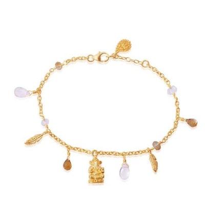 "Armband ""Hold my Hand"" i Gold Vermeil från Ananda Soul"