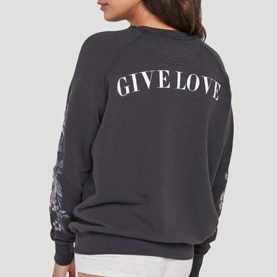 Give Love Classic Crew - Spiritual Gangster