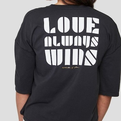 Luv wins icon tee - Spiritual Gangster
