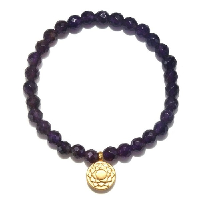 Armband Crown Chakra ifrån Satya