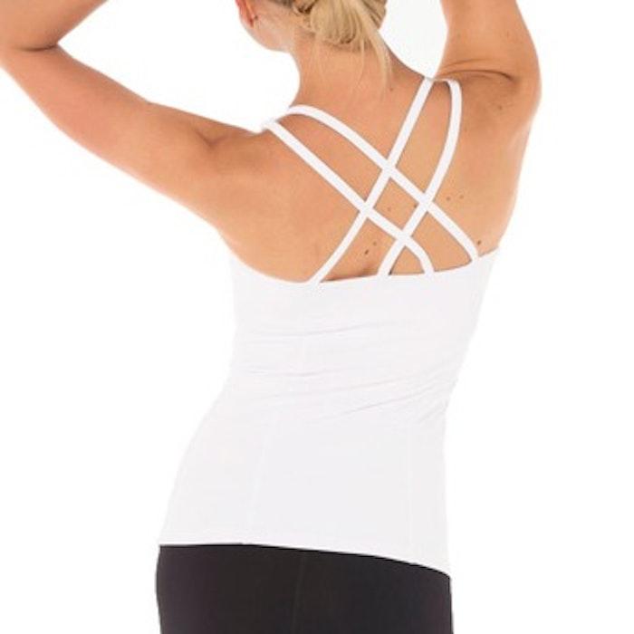 Yoga linne Prana flow från Dharma Bums - White