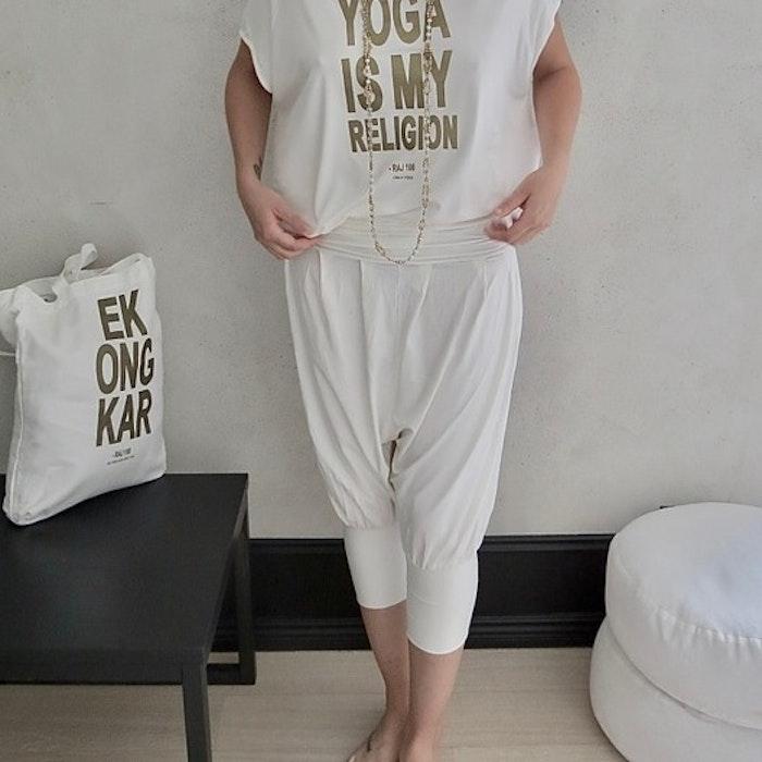 Yogabyxor Pärlvita - RAJ 108