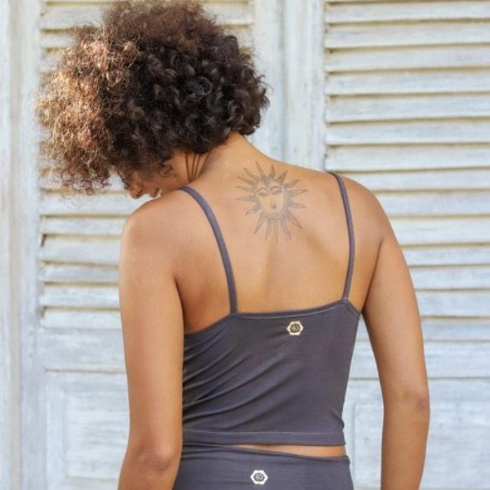 Yogalinne Charcoal- från Indigo Luna