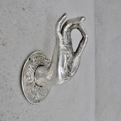 Budda hand silver - RAJ 108