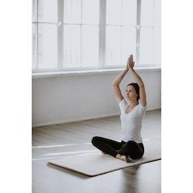Yogamatta i Ull - Äkta 100% merinoull utan väska