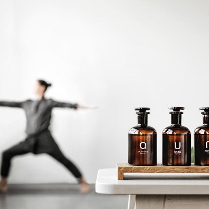 Paket Yogaoljor med bricka från Yogamood