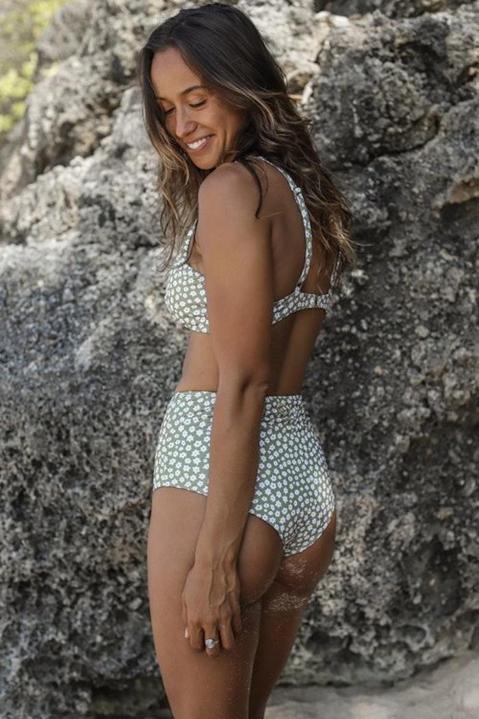 Bikinitrosa  Noella Daisy Olive - Indigo Luna