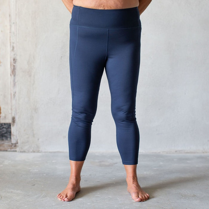 Yoga leggings High rise Midnight Full length - Girlfriend Collective