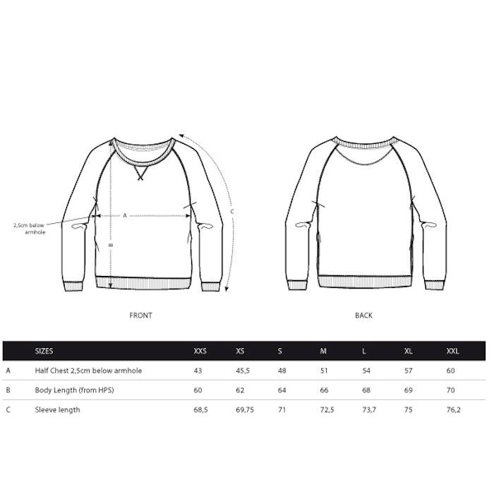 """Sweatshirt """"Geometric Moon""""  Burgundy - Yogia"""