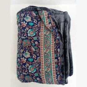 Yogafilt Sari/silke Blue dream - E-swiss